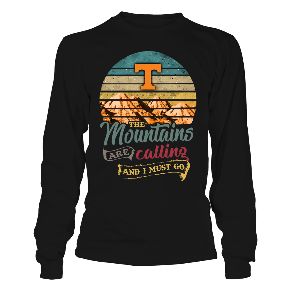 Tennessee Volunteers - Mountains Are Calling - Retro Style Front picture