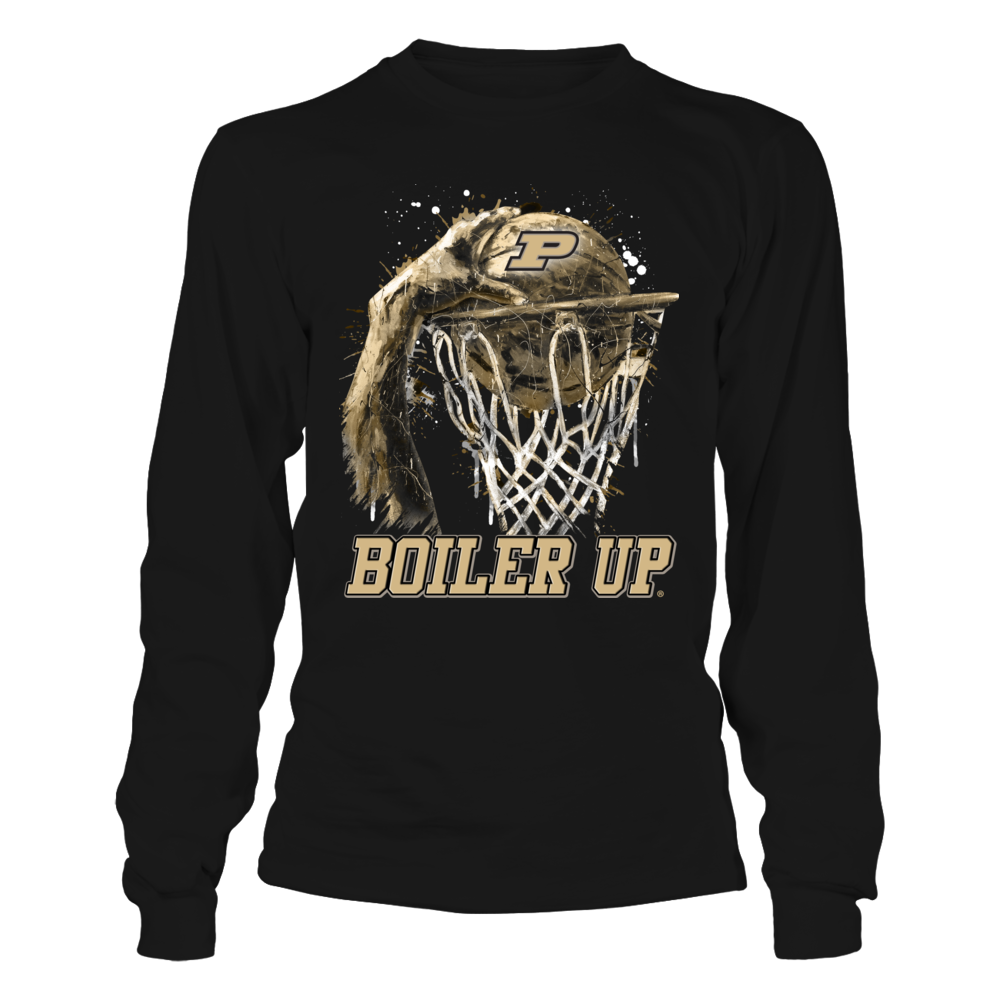Purdue Boilermakers - Color Drop Throwing Basketball Front picture
