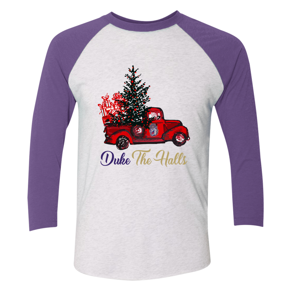 James Madison Dukes - Christmas Color Truck Front picture