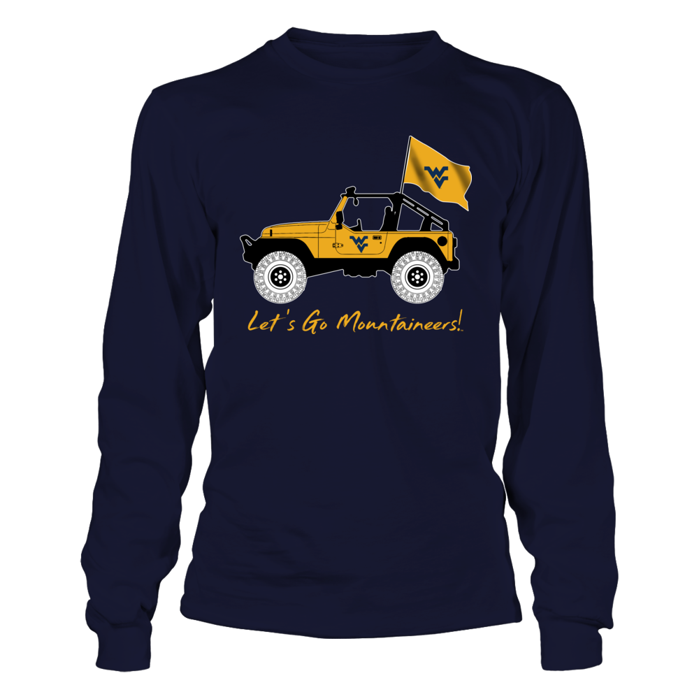 West Virginia Mountaineers - Jeep - Jeep Car Front picture
