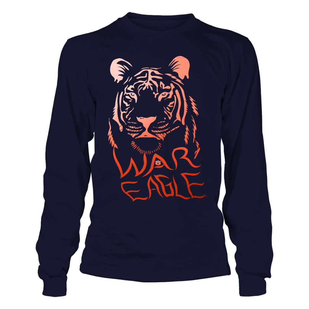 Auburn Tigers - Colorful Tiger Front picture