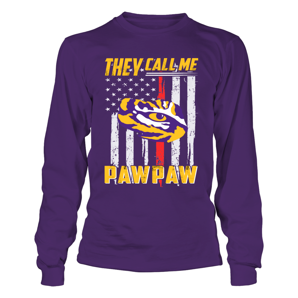 LSU Tigers - They Call Me - Thin Red Line Front picture
