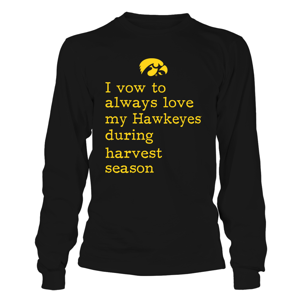 Iowa Hawkeyes - Farmer - Vow To Love Front picture