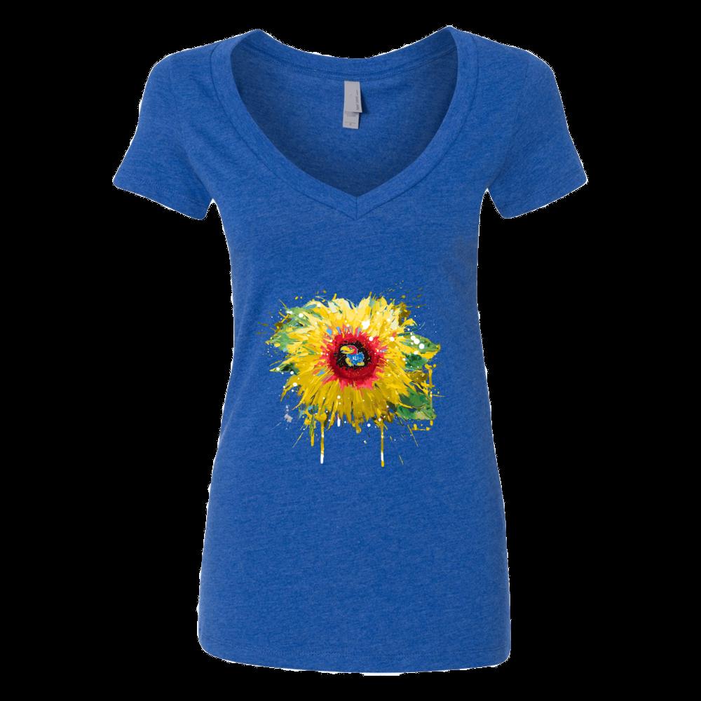 Kansas Jayhawks - Color Drop Sunflower Front picture