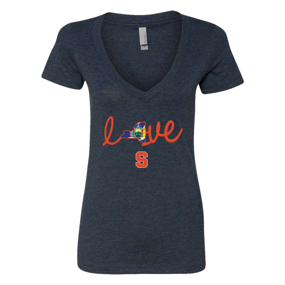 Syracuse Orange - Love state map Front picture