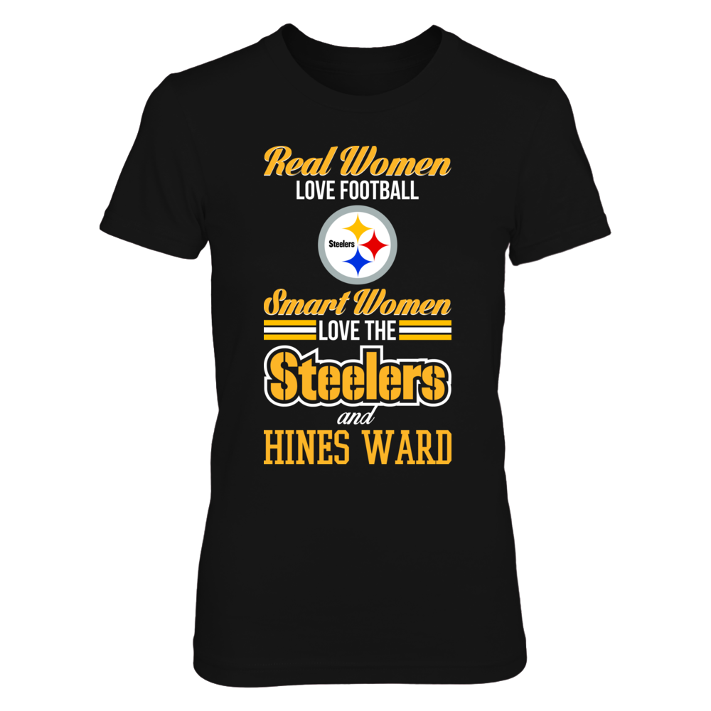 Pittsburgh Steelers - Hines Ward - Real Women Smart Women Front picture