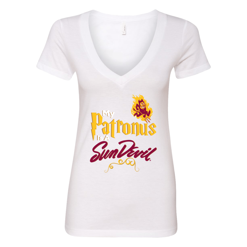 Official Arizona State Sundevils Fan Gear My Patronus is a Sundevil Front picture