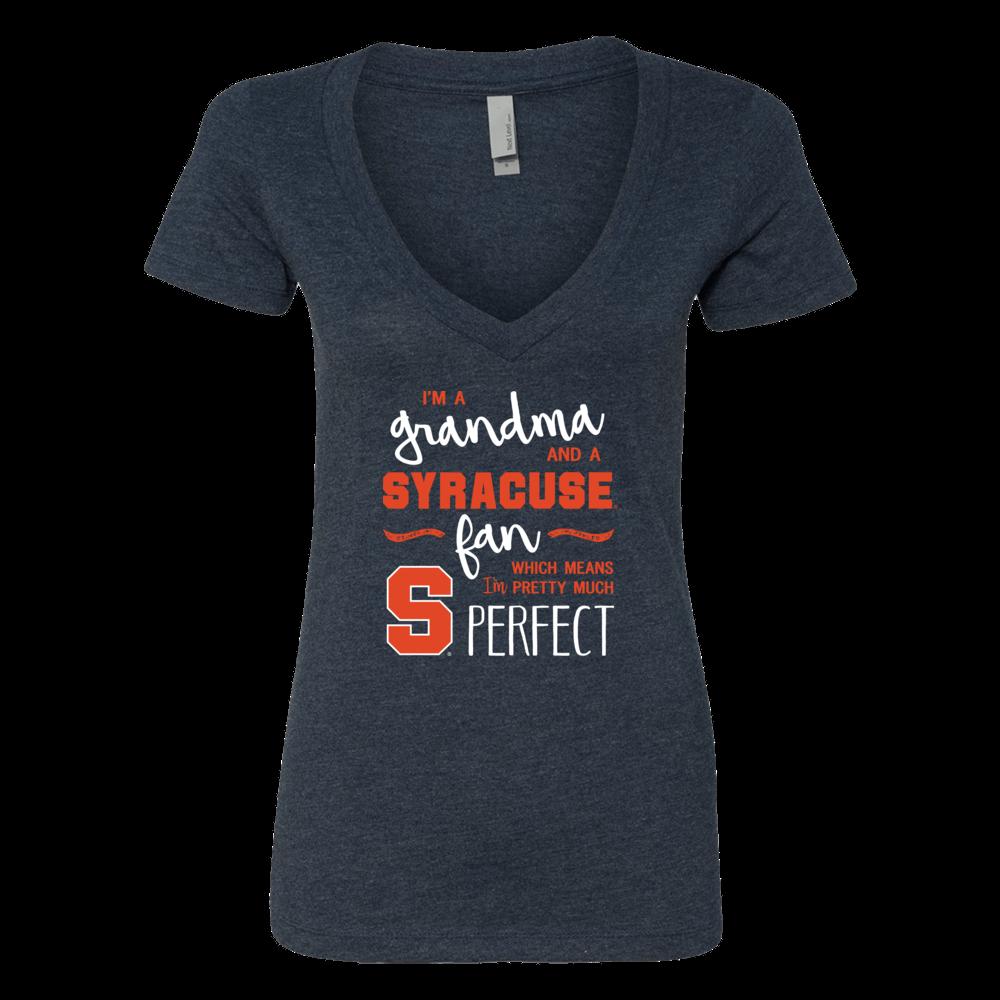 Perfect Grandma Syracuse Orange Fan T-Shirt | Tank | Hoodie Front picture