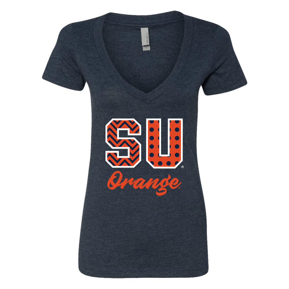 Syracuse Orange - Patterned Letters Front picture