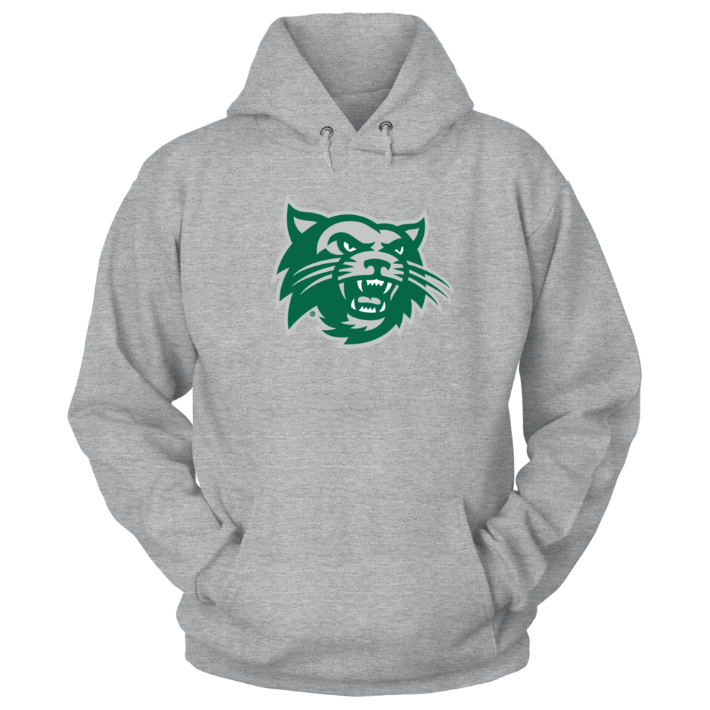 Northwest Missouri State Bearcats Head w/paw print on back right shoulder Front picture