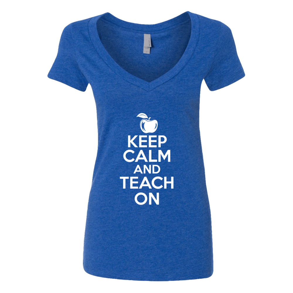 Keep Calm And Teach On Front picture