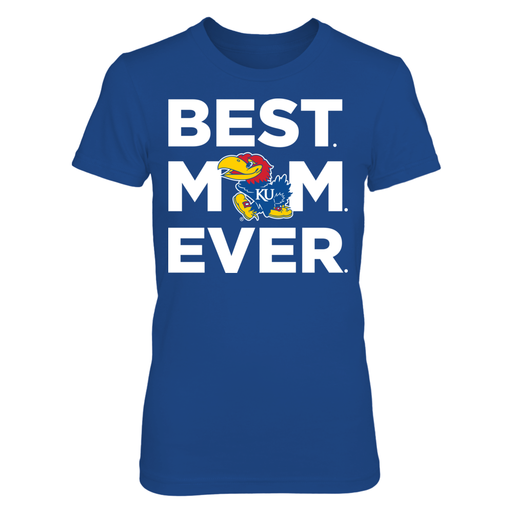 Kansas Jayhawks - Best Mom Ever Front picture