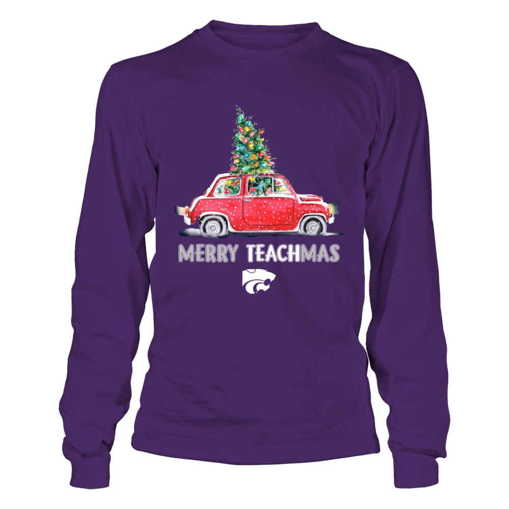 Kansas State Wildcats - Christmas - Merry Teachmas Truck Front picture