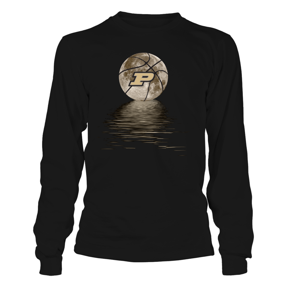 Purdue Boilermakers - Basketball Moon Reflection Front picture
