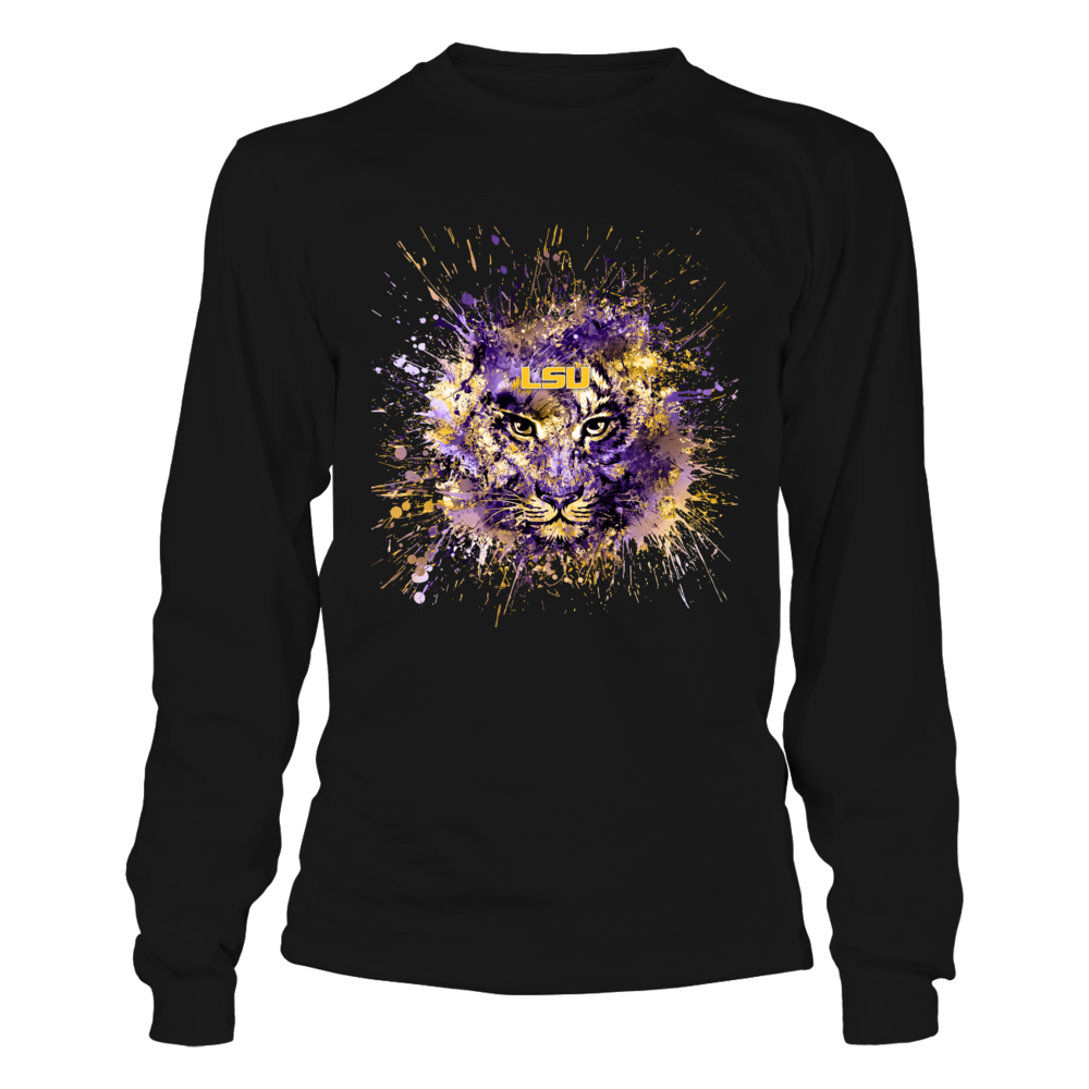LSU Tigers - Tiger Art - Color Drop Front picture