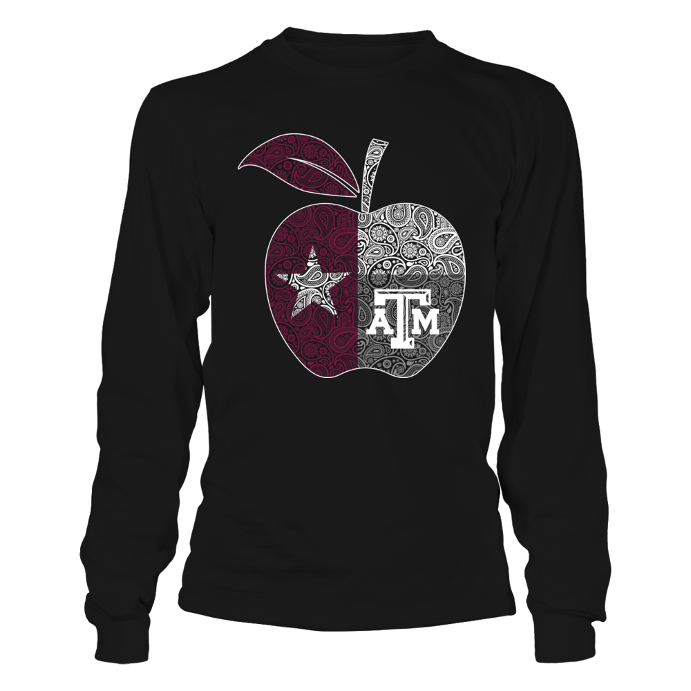 Texas A&M Aggies - Teacher Apple Flag Front picture