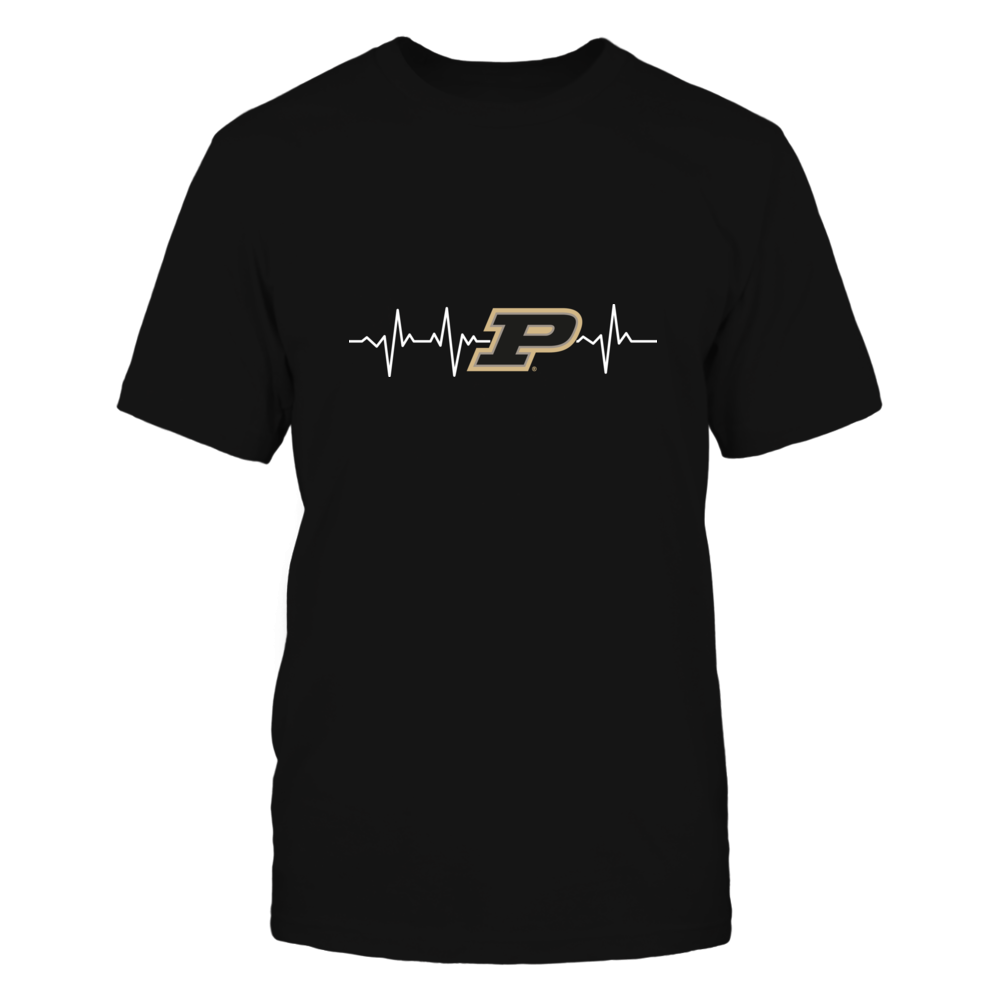Purdue Boilermakers - Heartbeat Front picture