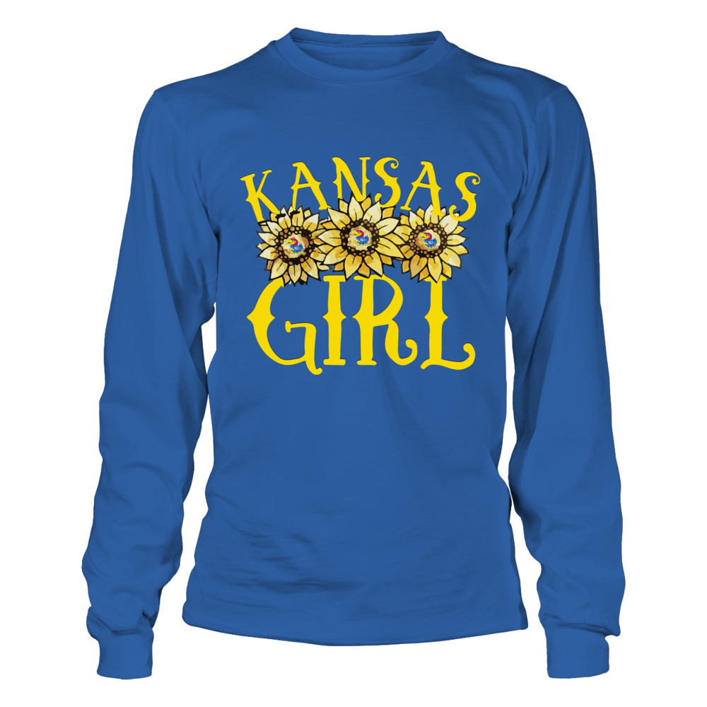 Kansas Jayhawks - Kansas Girl - Sunflower Front picture