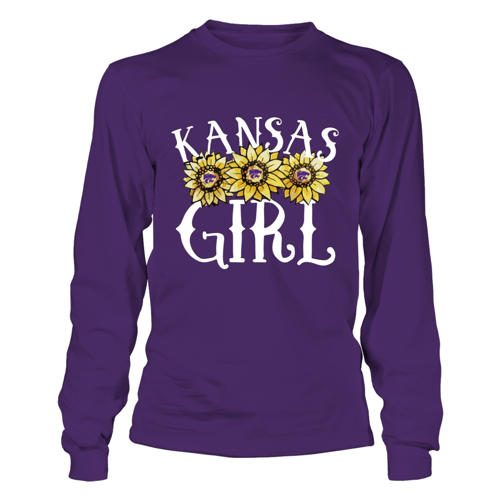 Kansas State Wildcats - Kansas Girl - Sunflower Front picture