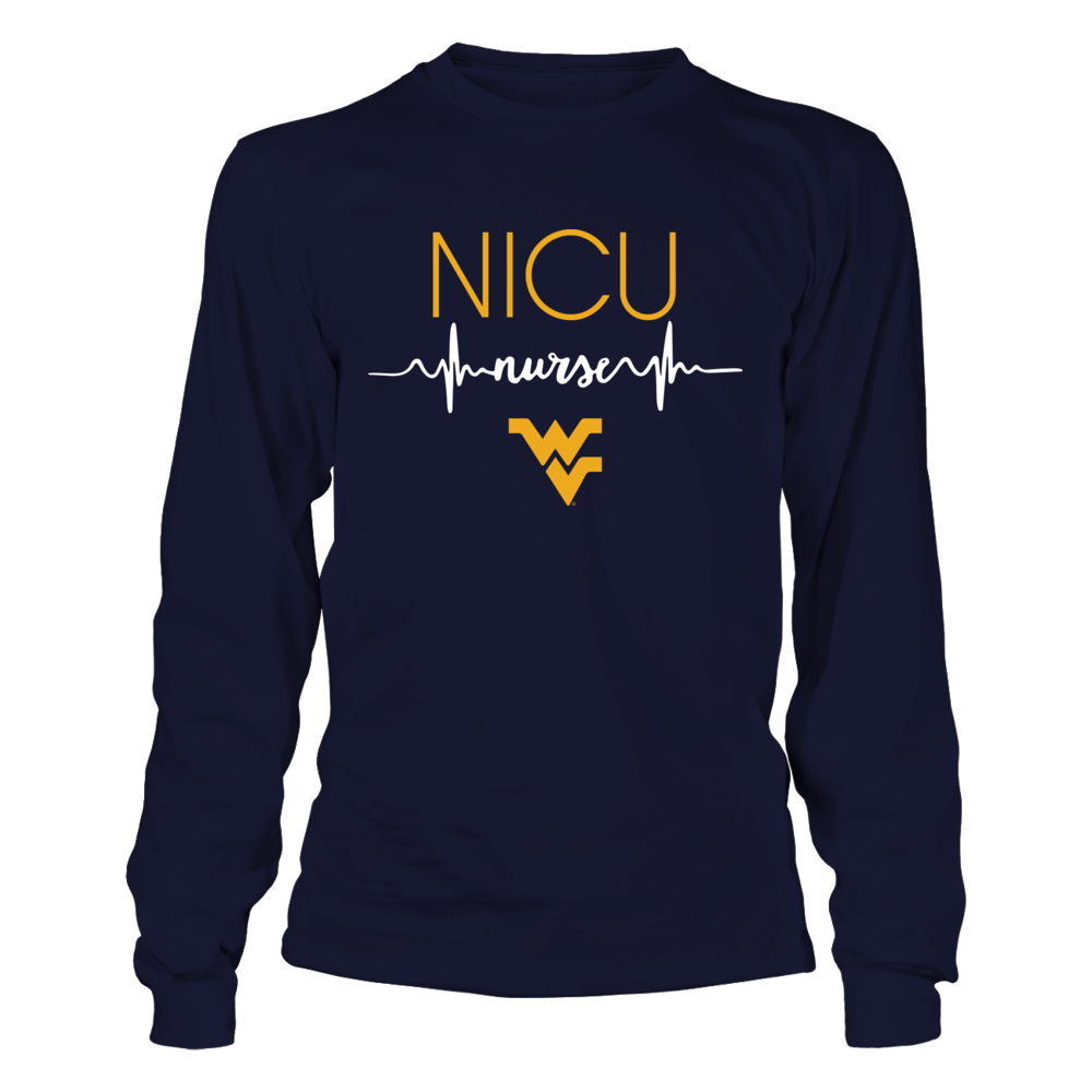 West Virginia Mountaineers - Nurse - Neonatal Nurse Heartbeat Front picture