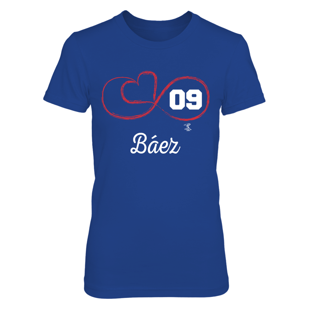Infinite Heart - Javier Baez Front picture
