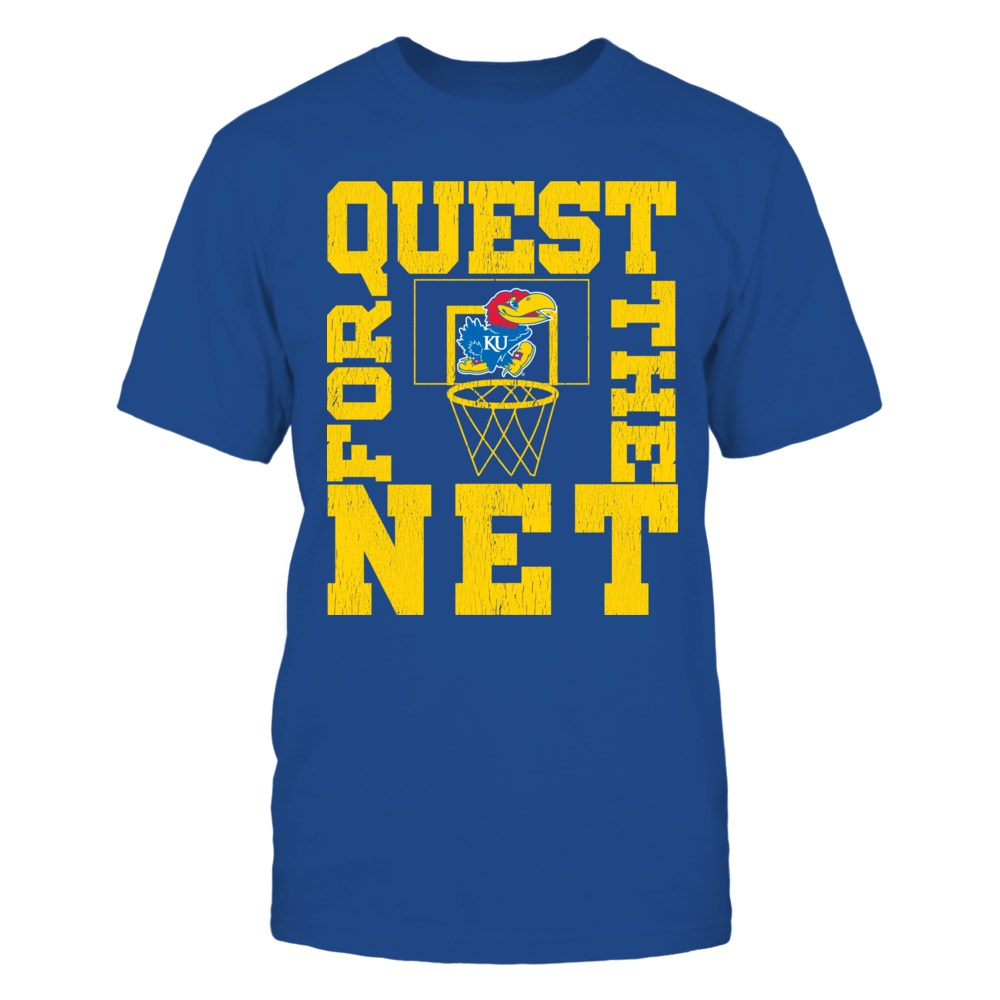 Kansas Jayhawks Quest For The Net Front picture