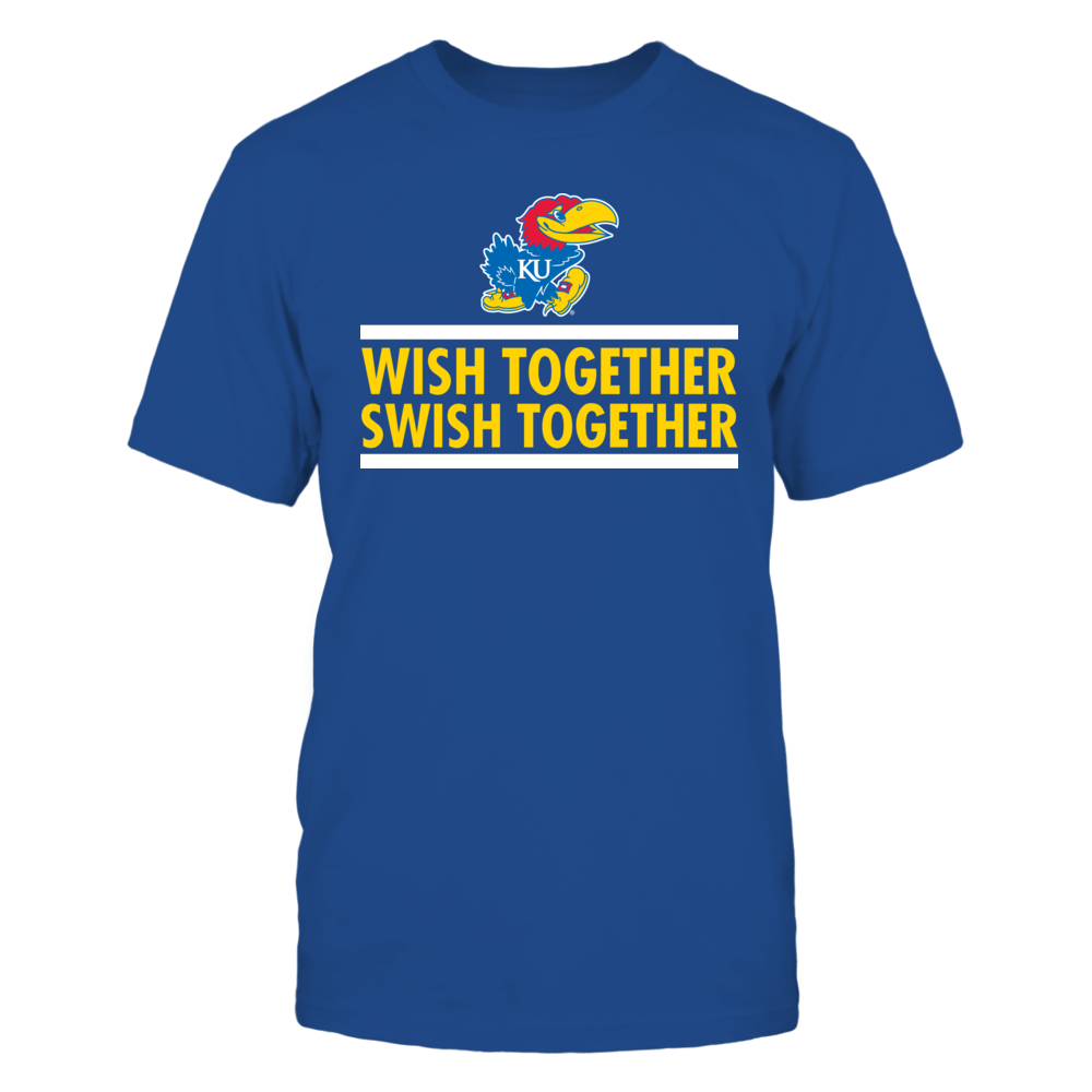 Wish Together Swish Together Kansas Jayhawks Front picture