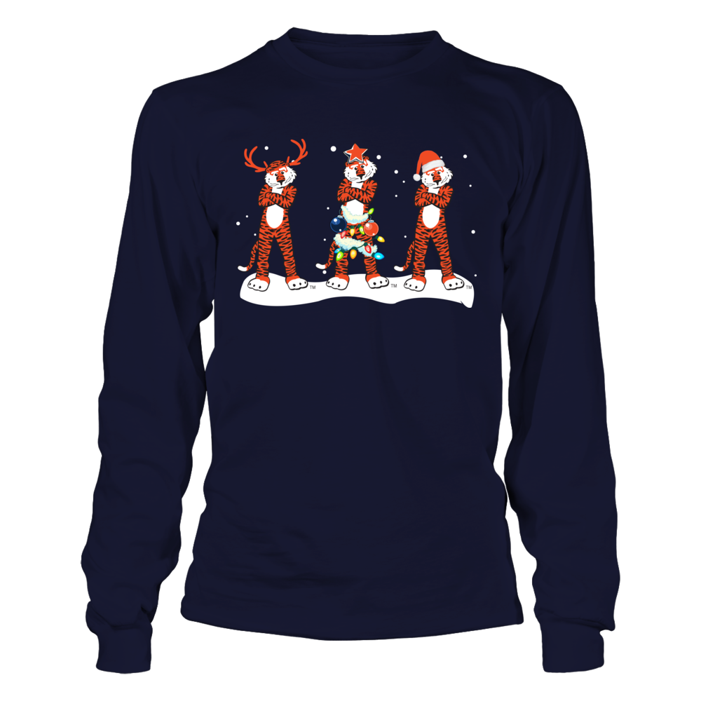 Auburn Tigers - Christmas - Mascot Reindeer Front picture