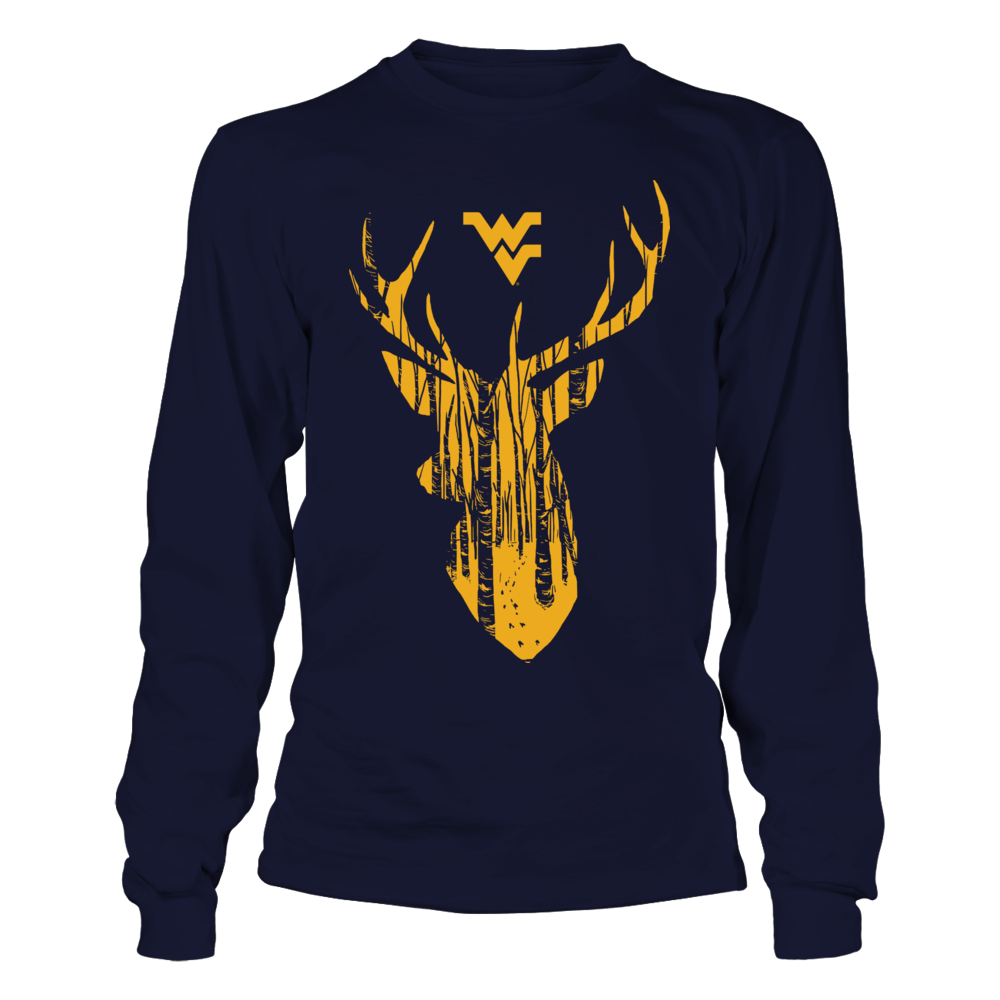 West Virginia Mountaineers - Hunting - Forest Deer Front picture