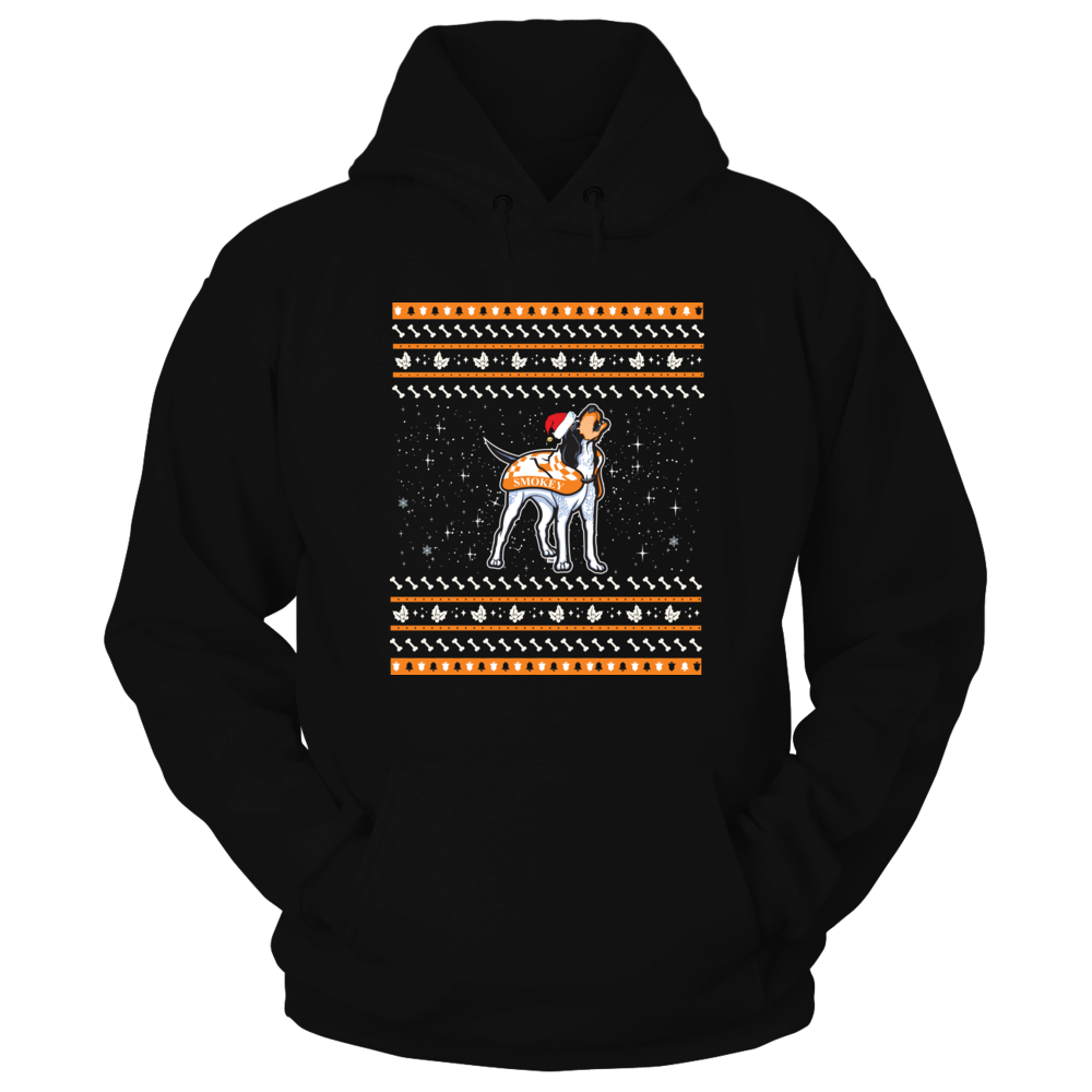 Tennessee Volunteers - Christmas - Dog Ugly Sweater Front picture