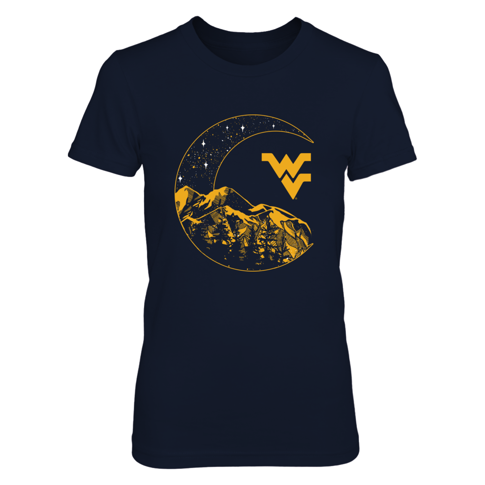 West Virginia Mountaineers -  Mountain Momma Moon Front picture