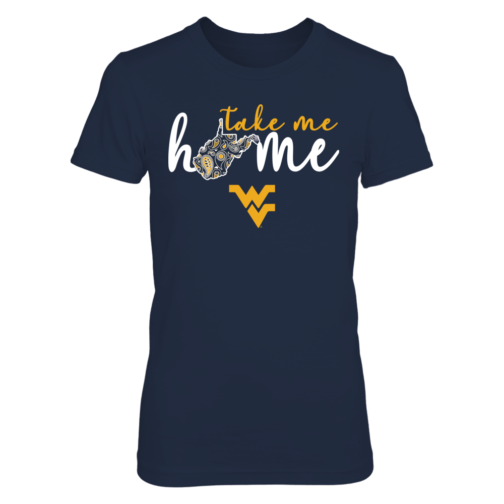 West Virginia - Take Me Home - Paisley Pattern Front picture
