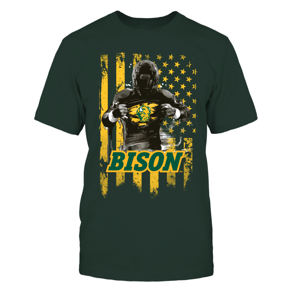 North Dakota State - Player Flag Front picture