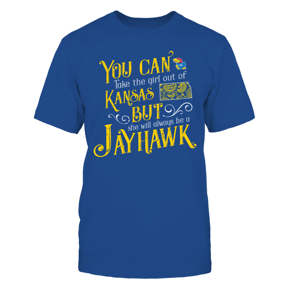 Kansas Jayhawks - Take The Girl Out Paisley State Front picture