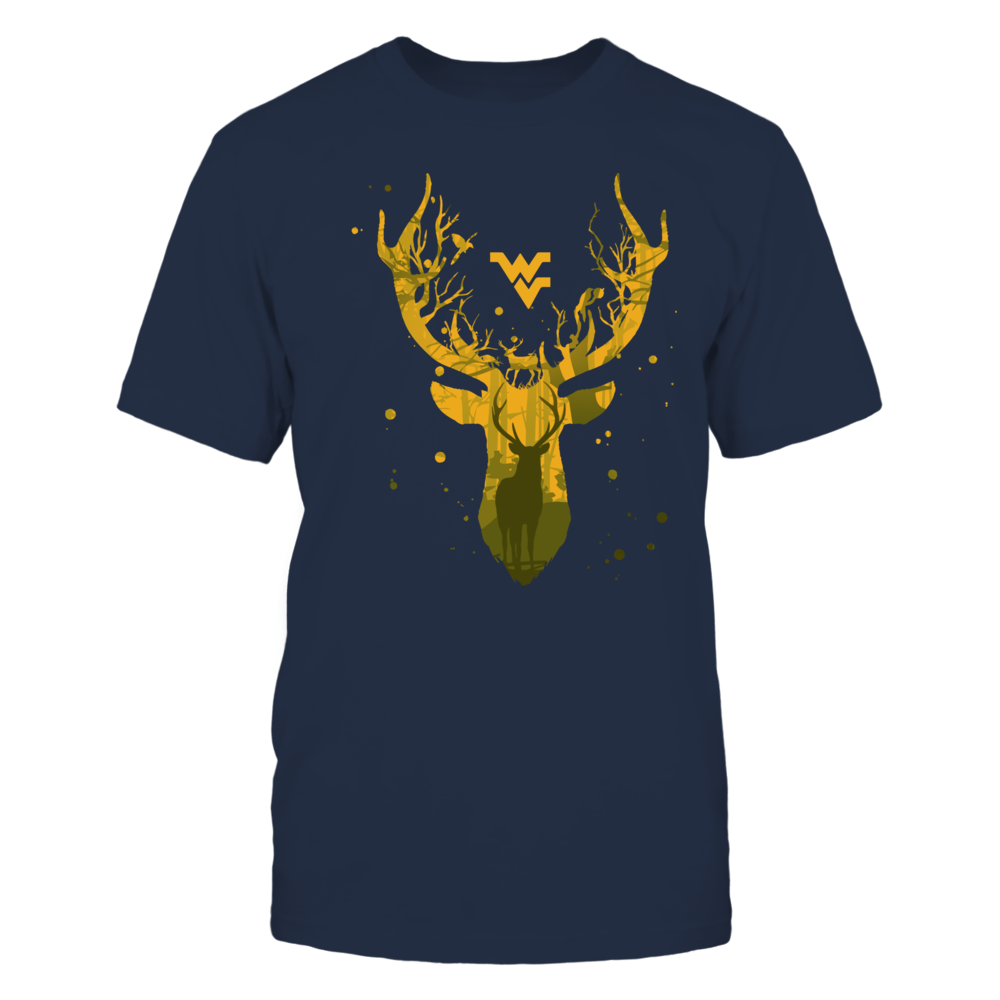 West Virginia Mountaineers - Hunting - Deer Inside Deer Front picture