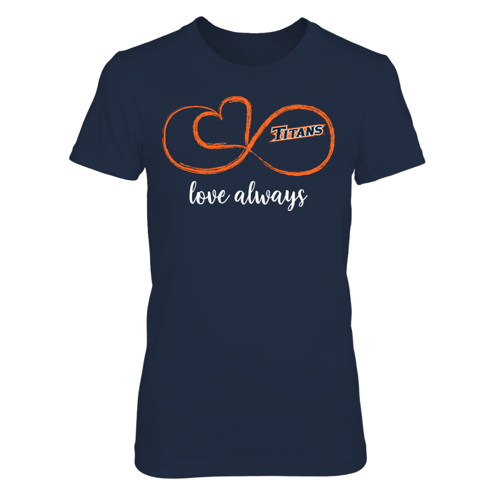 Cal State Fullerton Titans - Infinite Love Front picture