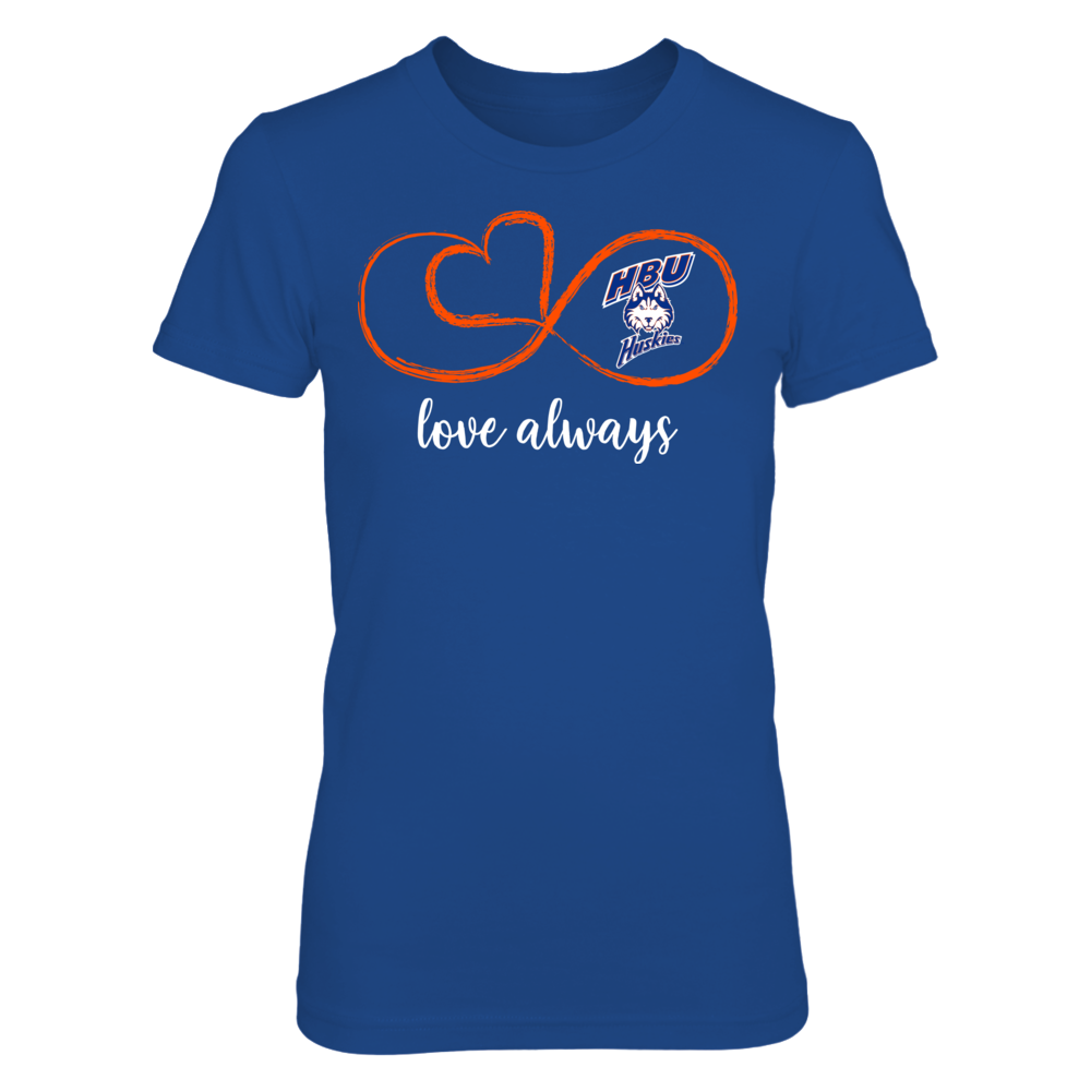 Houston Baptist Huskies - Infinite Love Front picture