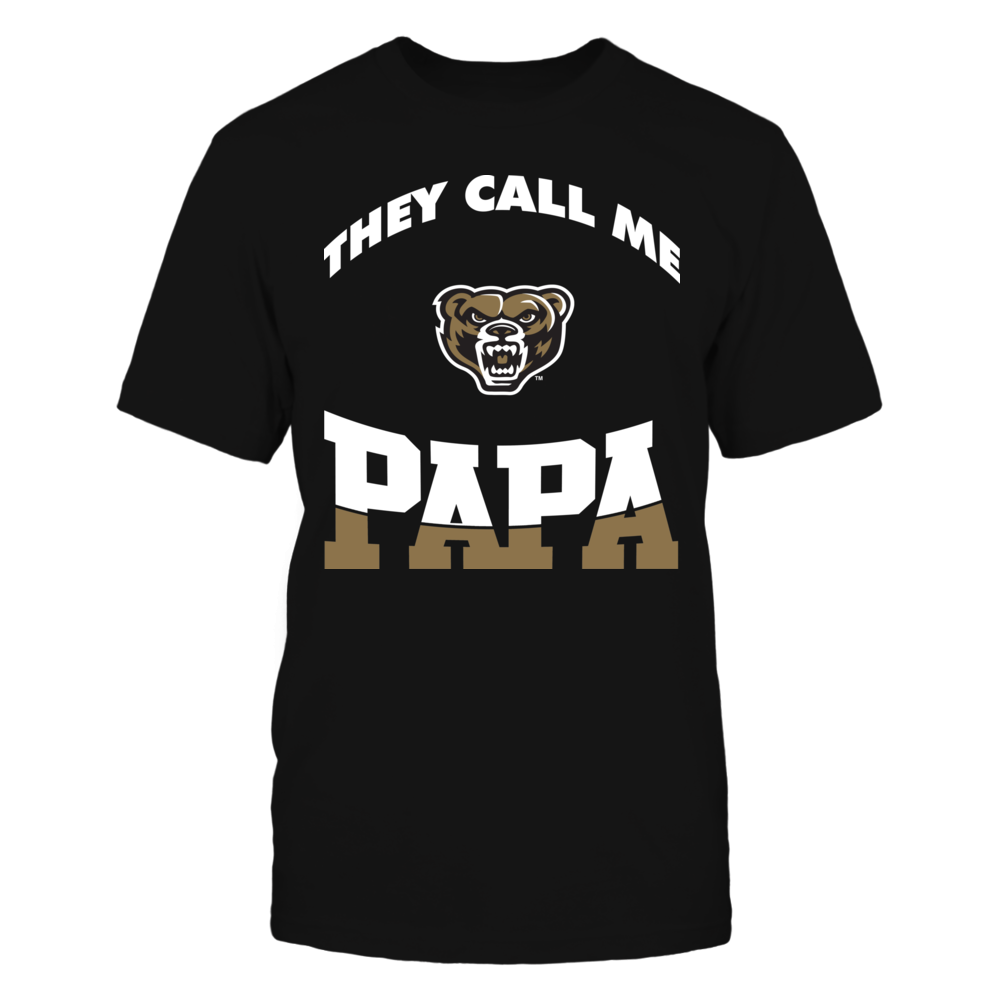 Oakland Golden Grizzlies - They Call Me Papa Front picture