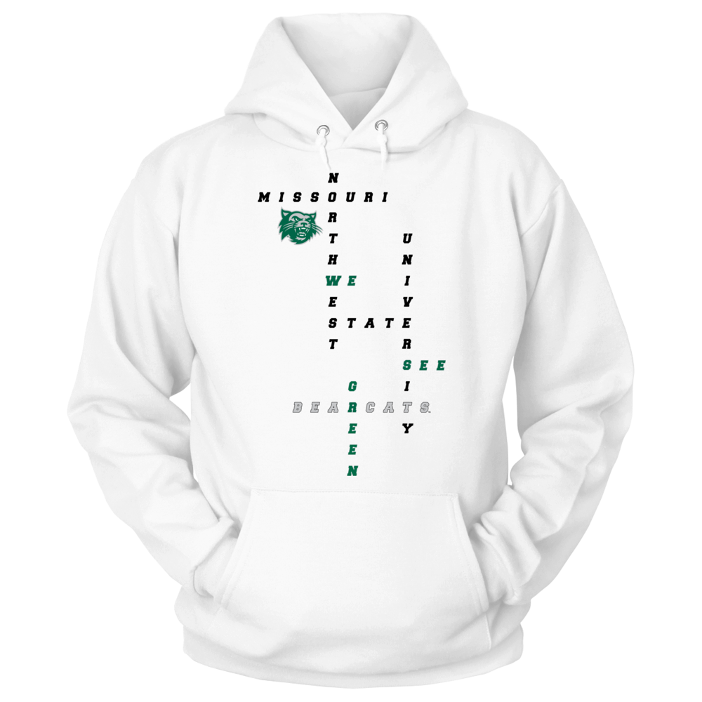 Northwest Crossword Hoodie, Sweatshirt, Long Sleeve Tshirt, Youth Tshirt Front picture