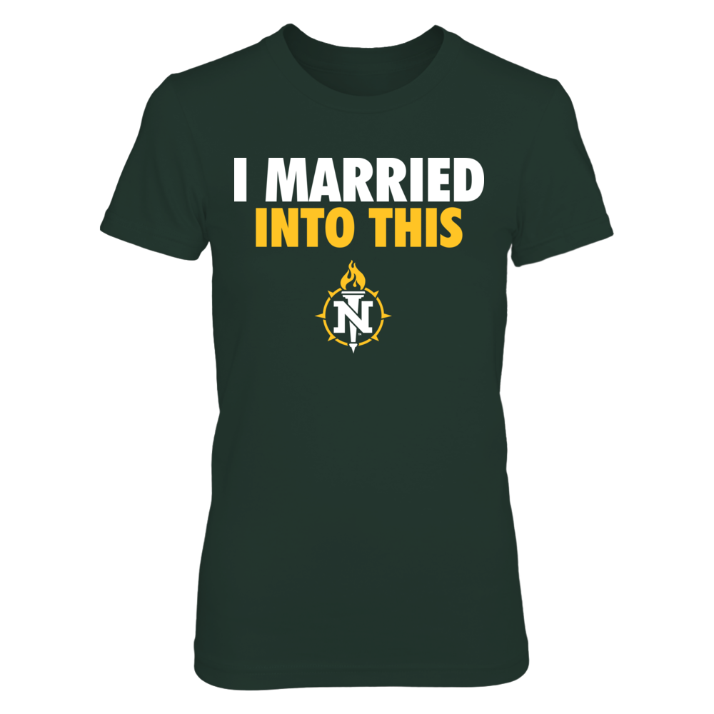 Northern Michigan Wildcats - Married Into This Front picture