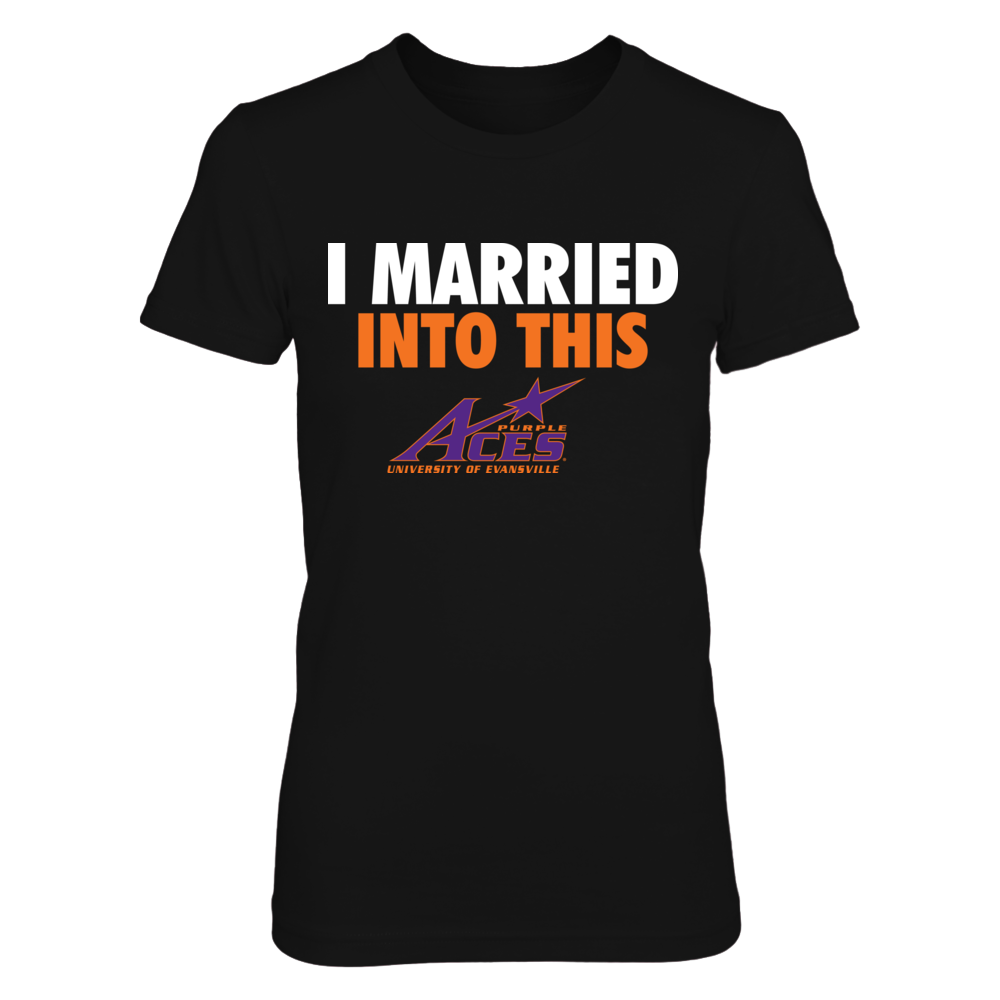 Evansville Purple Aces - Married Into This Front picture