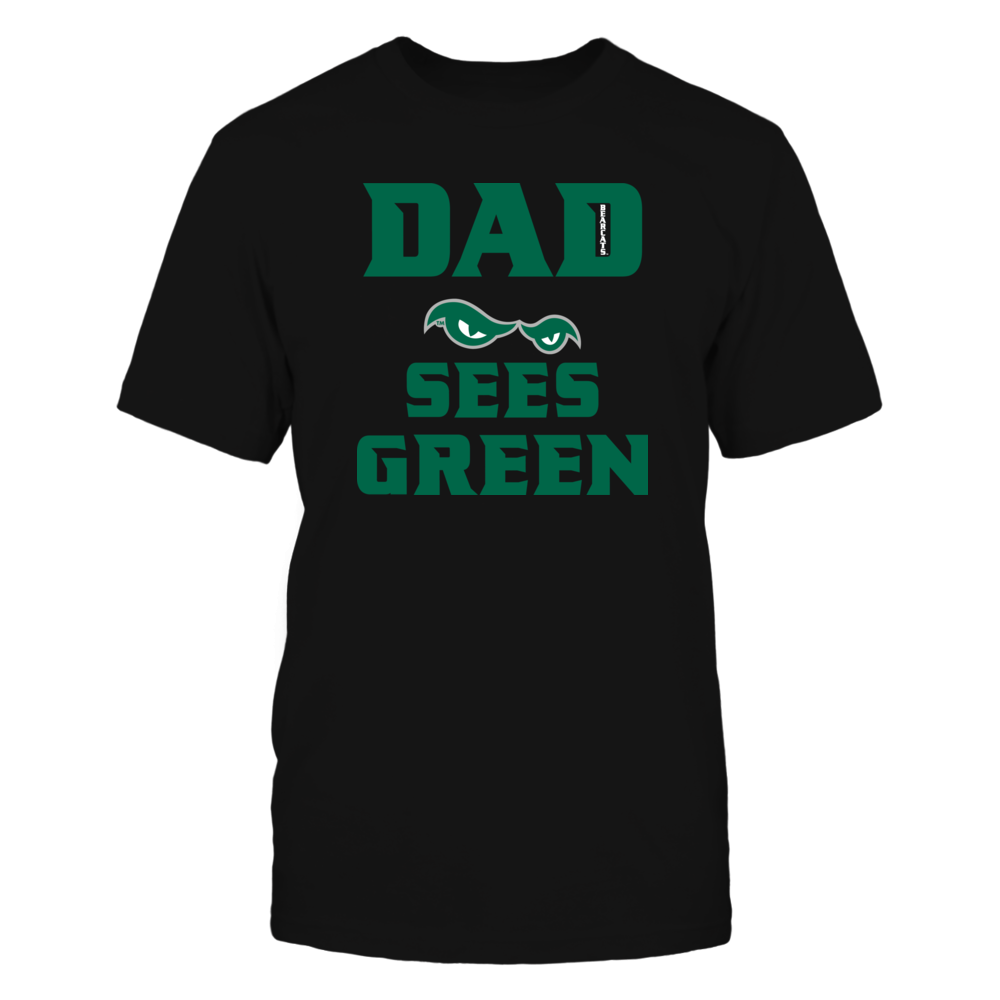 DAD SEES GREEN w/white Bearcats Front picture