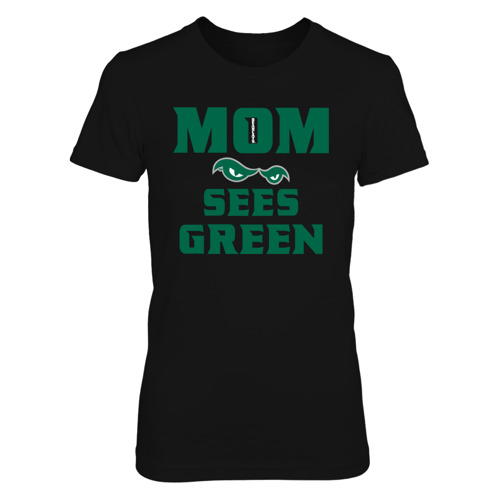 MOM SEES GREEN Front picture