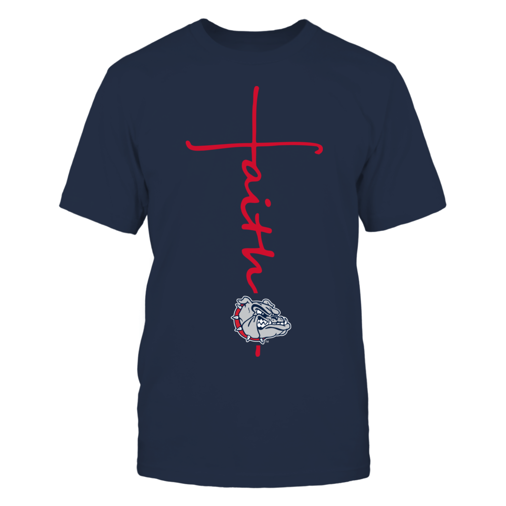 Gonzaga Bulldogs - Faith in Cross Shape Front picture