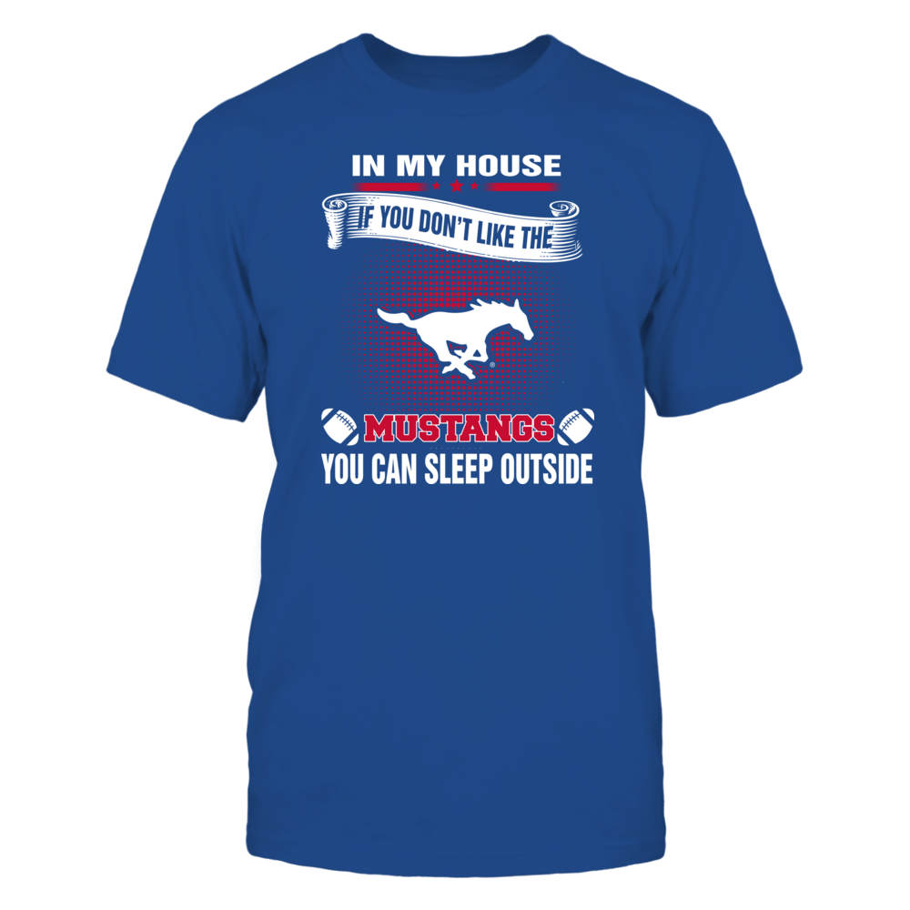 SMU Mustangs - You Can Sleep Outside Front picture
