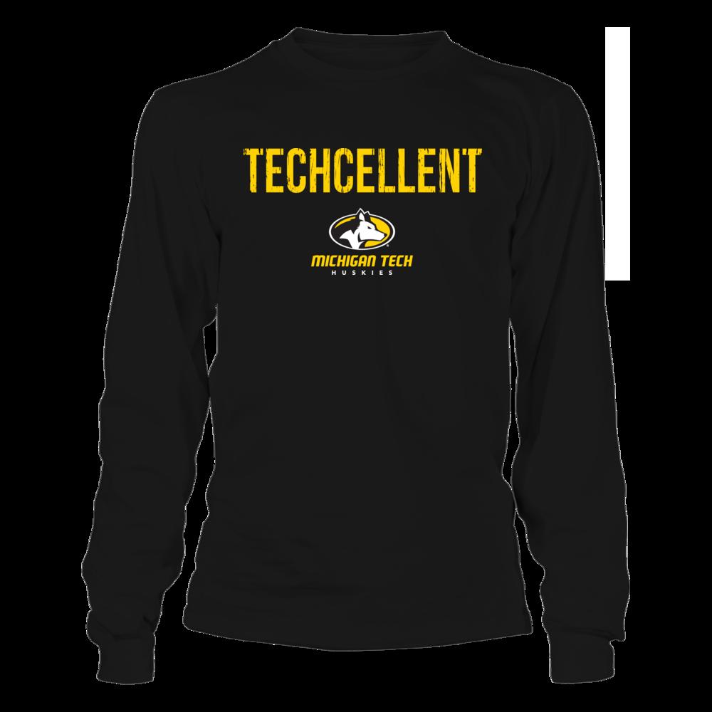 Michigan Tech Huskies - Techcellent Front picture