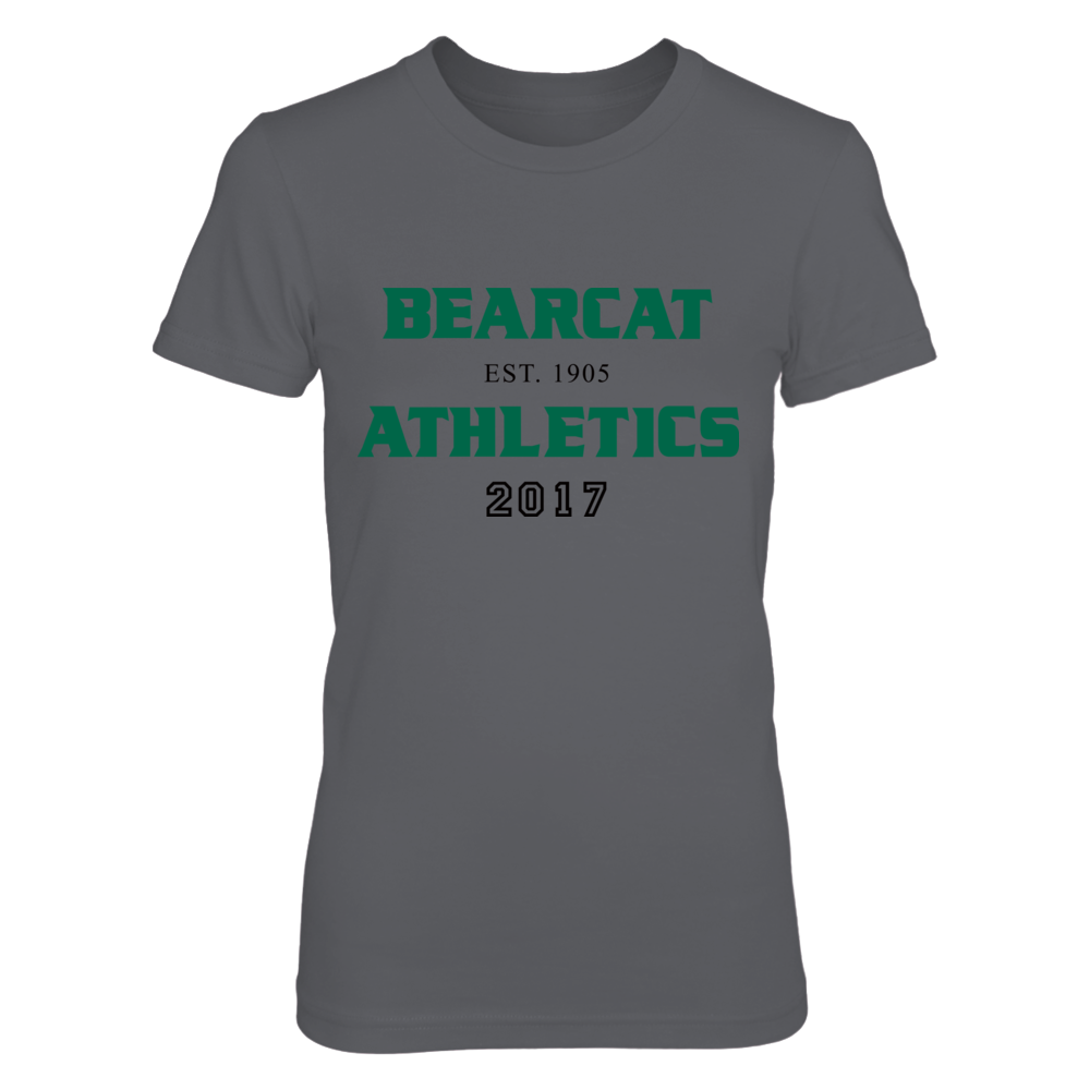 BEARCAT ATHLETICS EST. 1905 2017 Front picture
