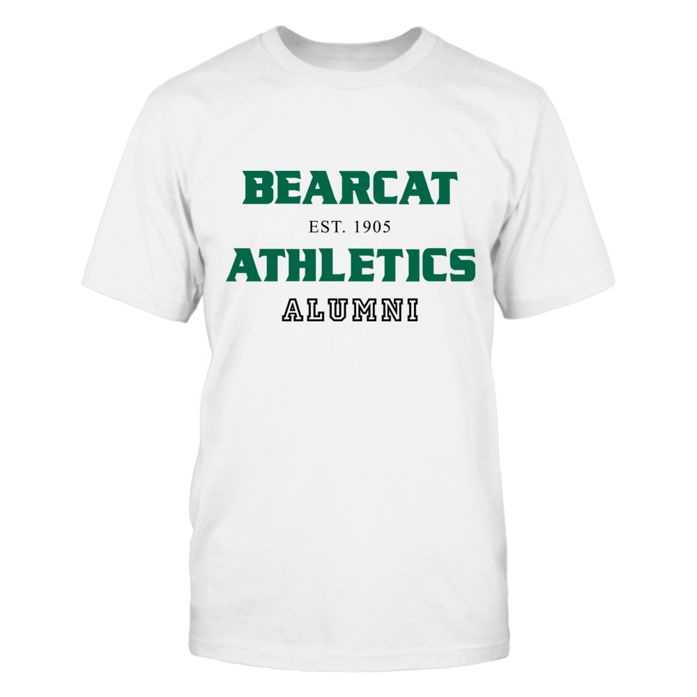 BEARCAT ATHLETICS EST. 1905 ALUMNI Front picture