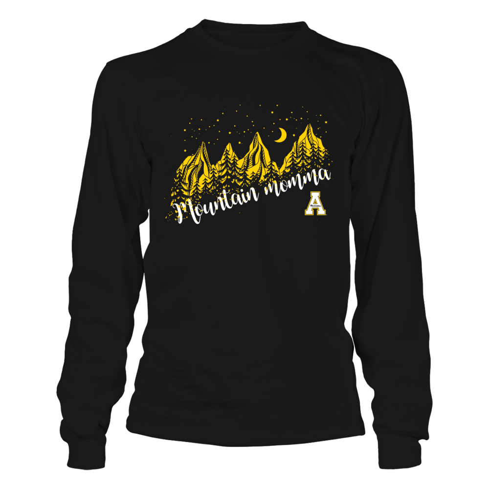 Appalachian State Mountaineers - Mountain Momma - Mountains in Night Front picture