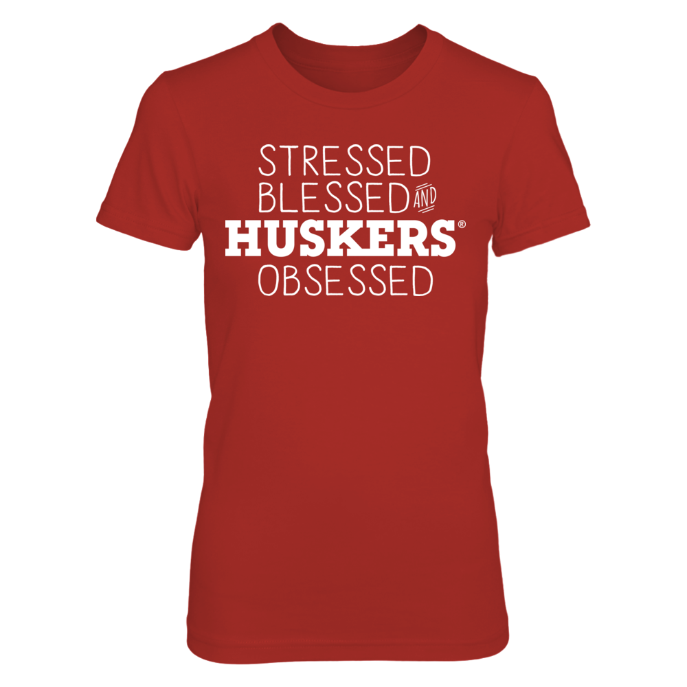 Nebraska Cornhuskers - Stressed & Blessed Front picture